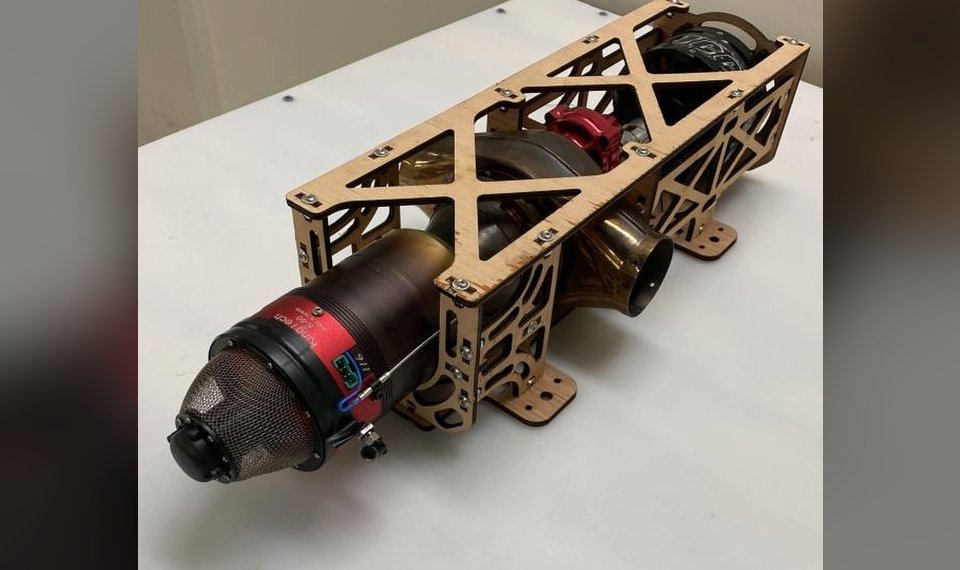 OSU students design and build innovative engine for drones