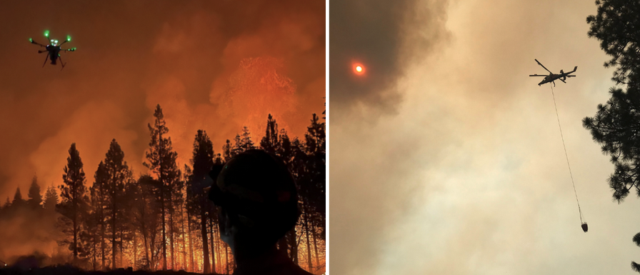 NASA joins California firefighters to see how drones help with wildfires
