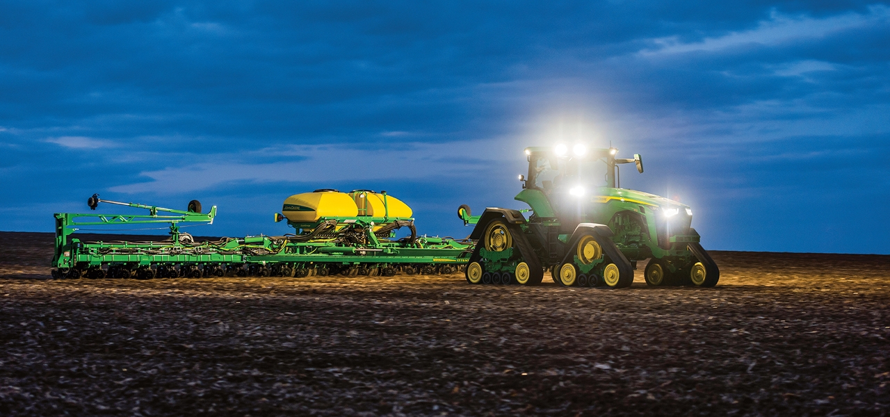 Precision ag aids sustainability